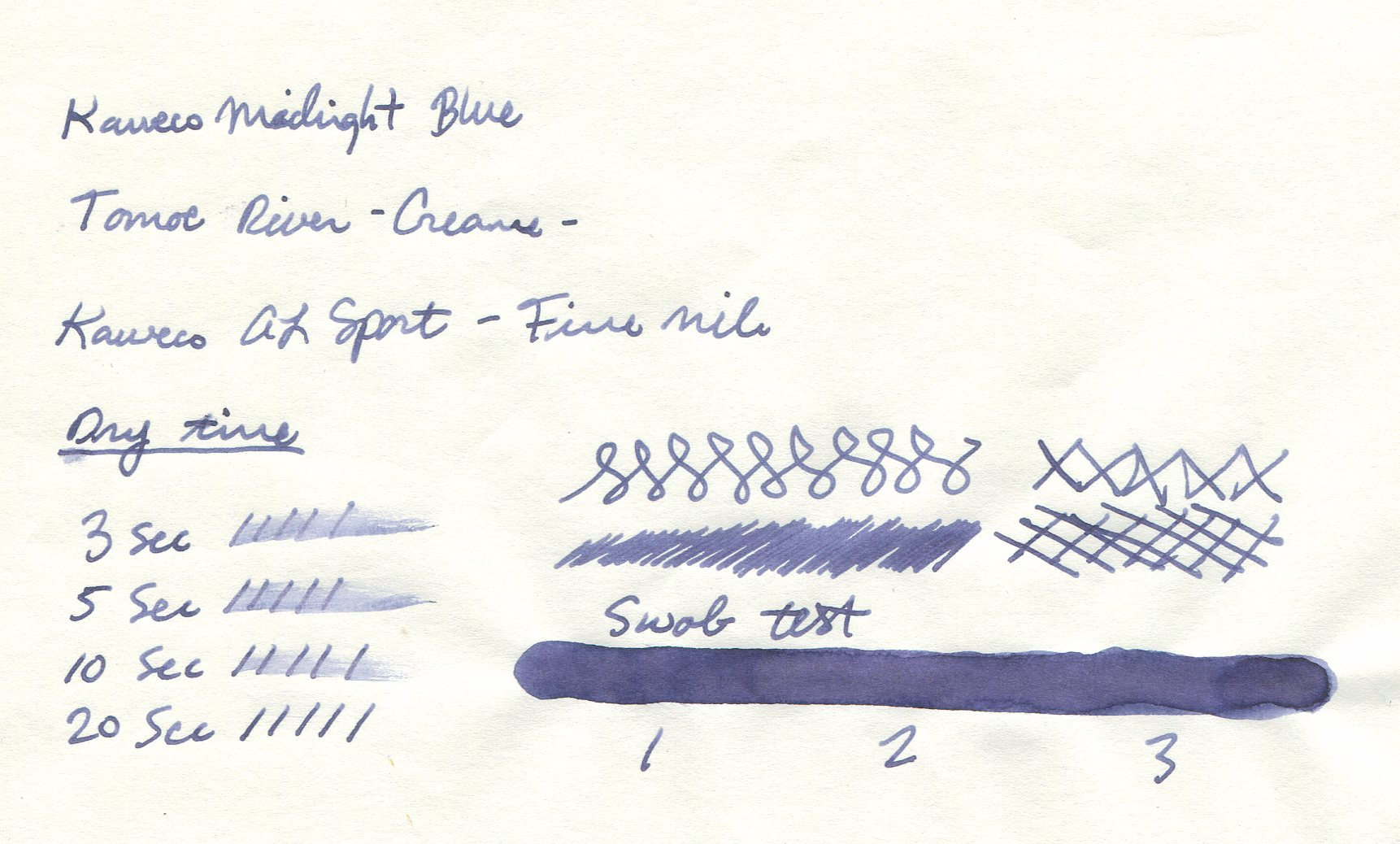 Kaweco-Midnight-Blue-Tomoe-River-051