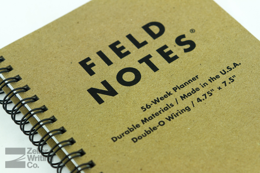 Review Field Notes 56 Week Planner Ink On Hand News Reviews